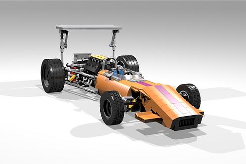 49B Orange/Magenta