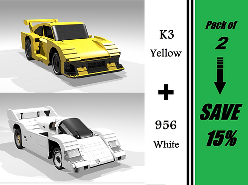 PROTOTYPE & GT PACK: 956 White and K3 Yellow