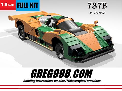 FULL KIT: 787B Green & Orange