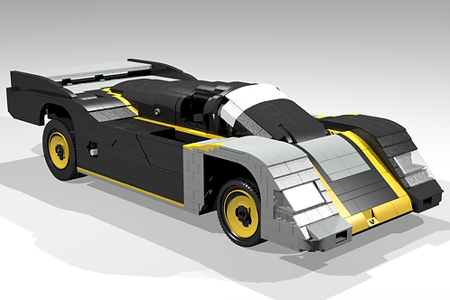"""962 """"Titanium"""" sportscar"""