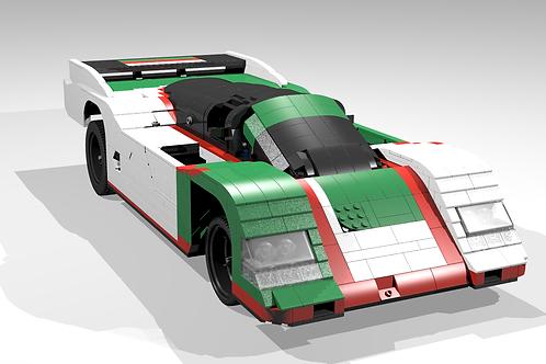 """962 """"Tricolore"""" sportscar"""