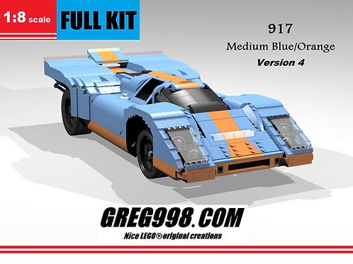 FULL KIT: 917 Medium Blue/Orange