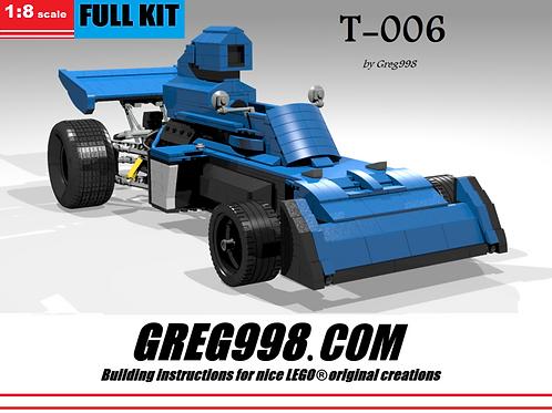 FULL KIT: T-006 racecar