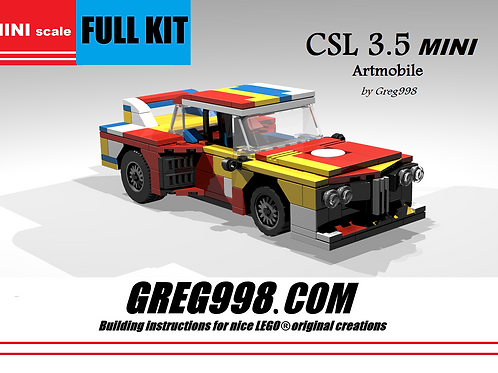 FULL KIT: Mini CSL 3.5 Artmobile