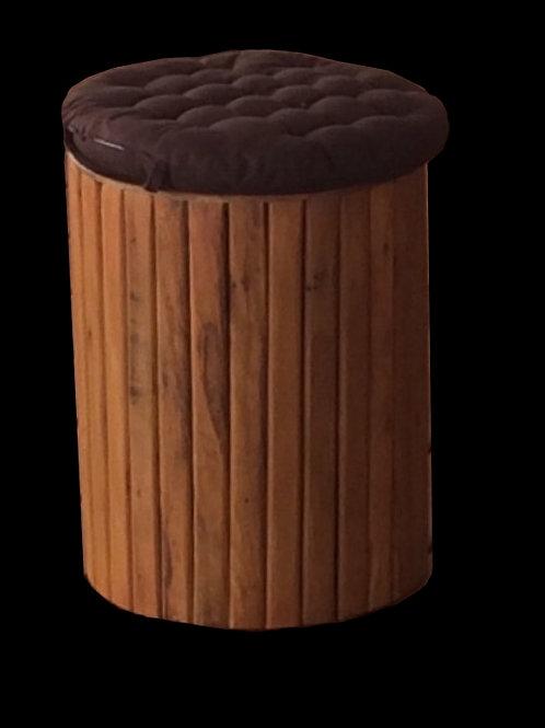 Banco de madeira individual