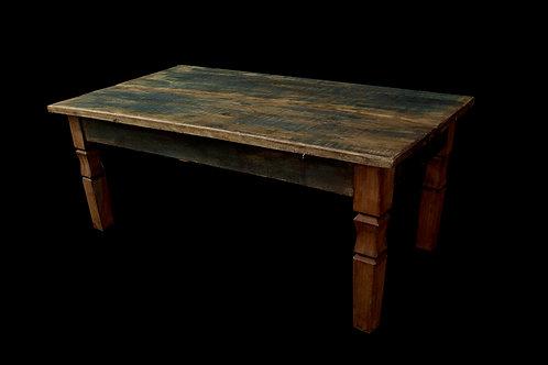 Mesa de centro madeira de demolição