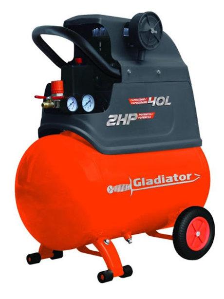 Compresor 40Lts Gladiador