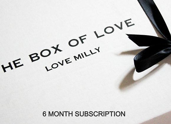 6 Month Subscription Box