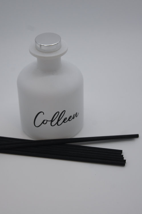 Personalised Reed Diffuser Matte White