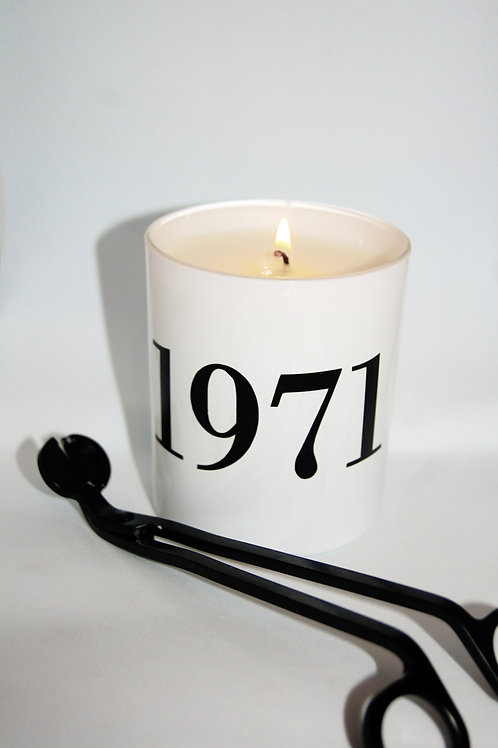 'The Best Year' Candle
