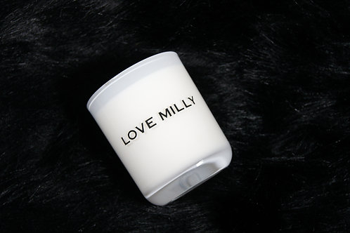 Medium Soy Wax Candle (White)