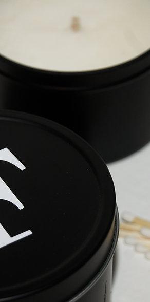 Alphabet Initial Candle Tin