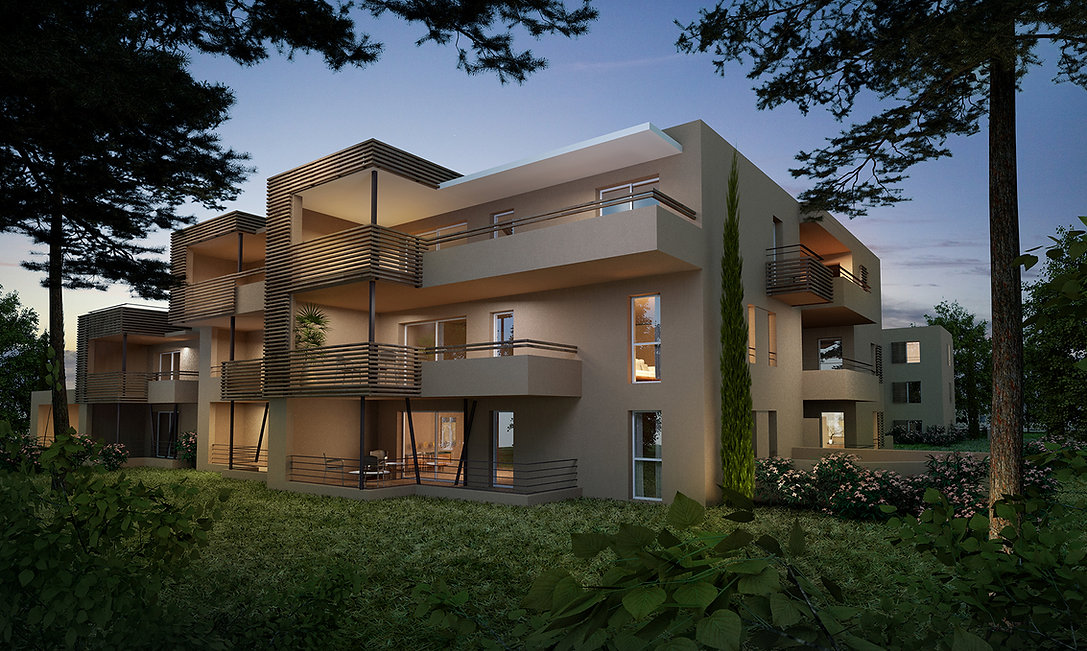 Architecture 3D Benoit Redard LES JARDIN