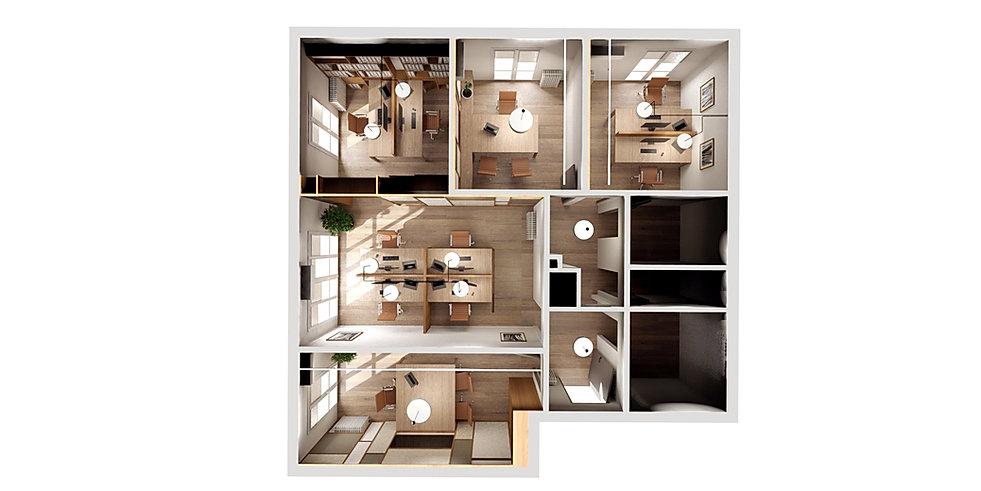 design d'espace Bureau comptable Avignon