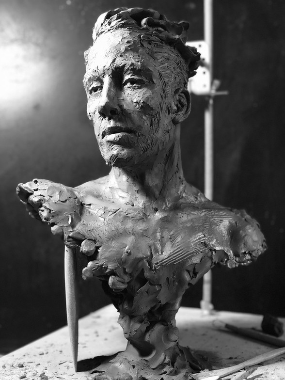 le songe sculpture avignon benoit redard