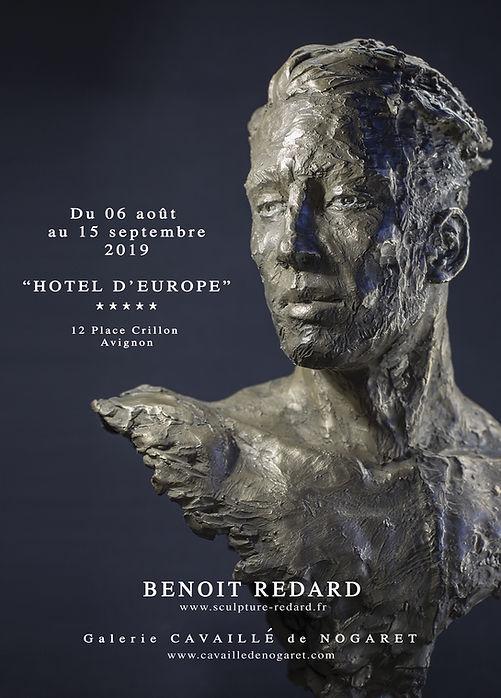 Exposition Avignon hotel d'europe Benoit Redad