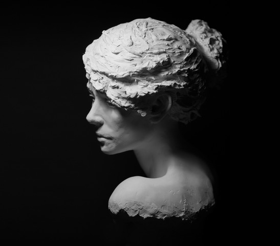Le doute sculpture avignon benoit redard