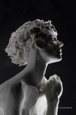 L'espoir sculpture avignon benoit redard