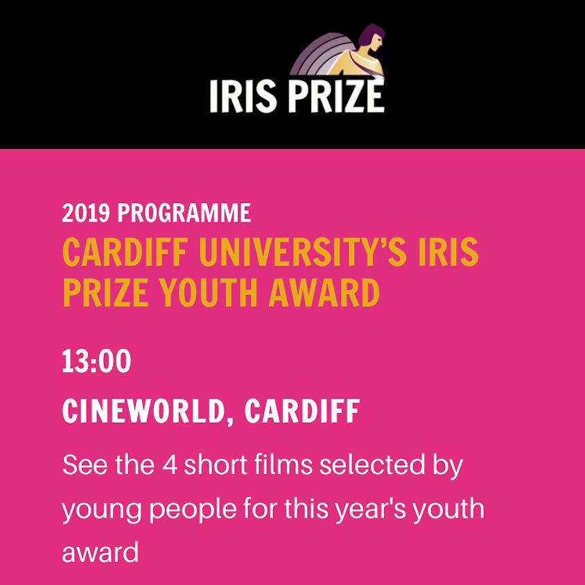 CARDIFF UNIVERSITY'S IRIS PRIZE YOUTH AWARD