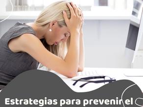 Estrategias para prevenir el Burnout