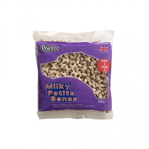 Pointer Milky Petite Bones