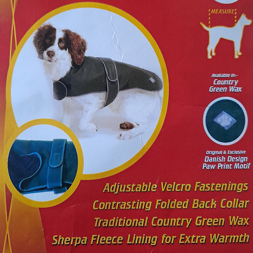 """Waxed Dog Coat 14"""""""