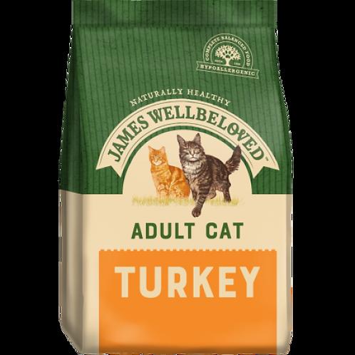 James Wellbeloved Adult Cat Turkey & Rice