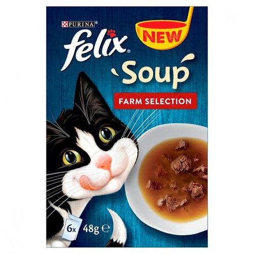 Felix Soup 6x48g