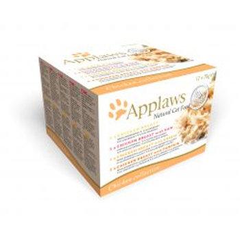 Applaws Cat Tin Chicken 12 x 70g