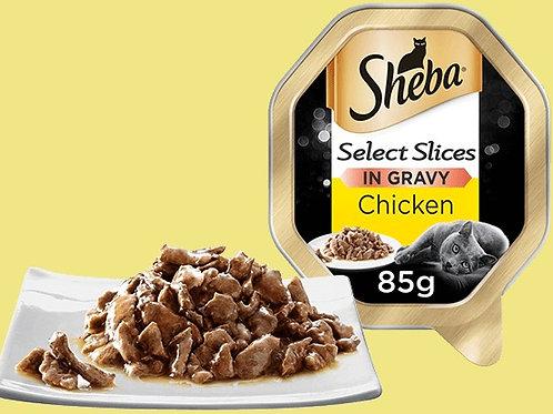 Sheba Tray Select Slices in Gravy 85g