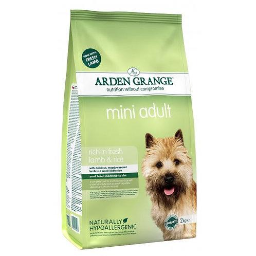 Arden Grange Dog Mini Adult Lamb & Rice 2kg