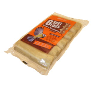 Suet To Go Mealworm and Insect Suet Logs 6pack
