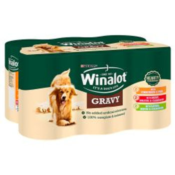 Winalot Mixed Variety Casserole Selections in Gravy 6 Pack