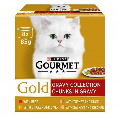 Gourmet Gold Chunks in Gravy 8 x 85g
