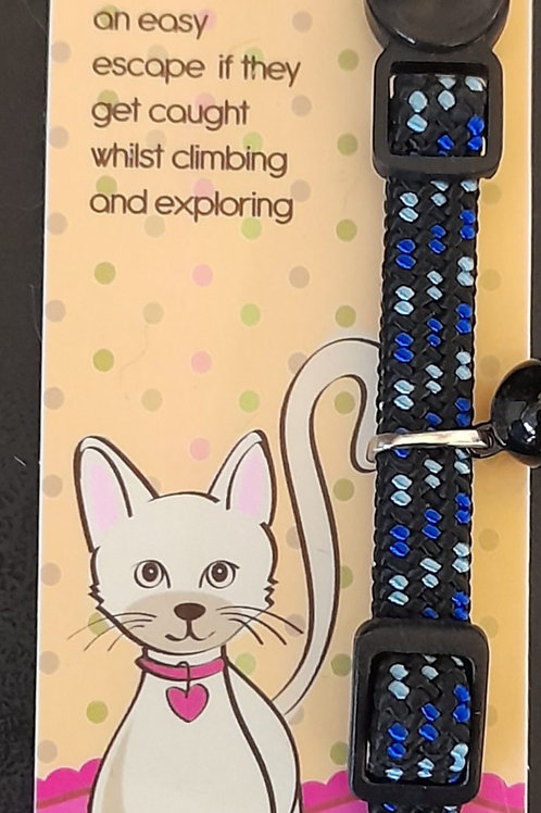 Ancol Safety Buckle Kitten Collar Elasticated