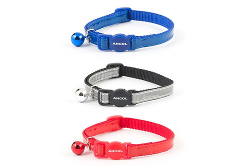 Ancol Gloss Reflective Safety Cat Collar