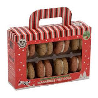Laughing Dog Christmas Macarons 8pk