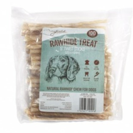 Rawhide Twist Sticks