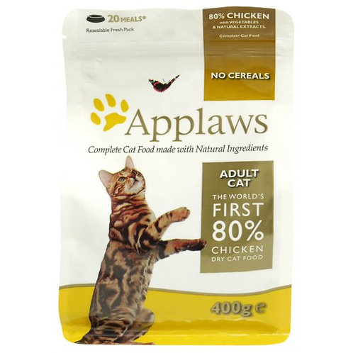 Applaws Cat Dry Adult Chicken 400g