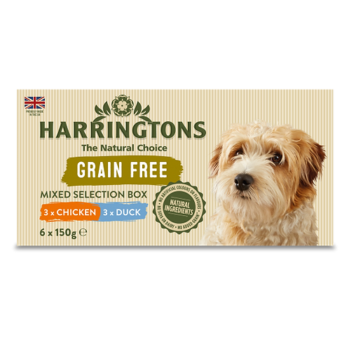 Harringtons Adult Dog Wet Mixed Pack
