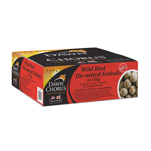 Dawn Chorus Fat Balls Un-netted 12.75kg (Equal To 150 Fat Balls)