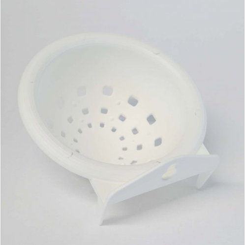 Quiko Canary Plastic Nest Pan White