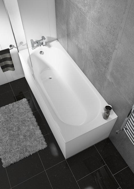 Delph Single End Straight Standard Bath Round Style