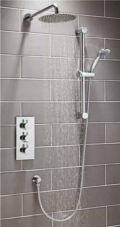 Round Shower Set 4
