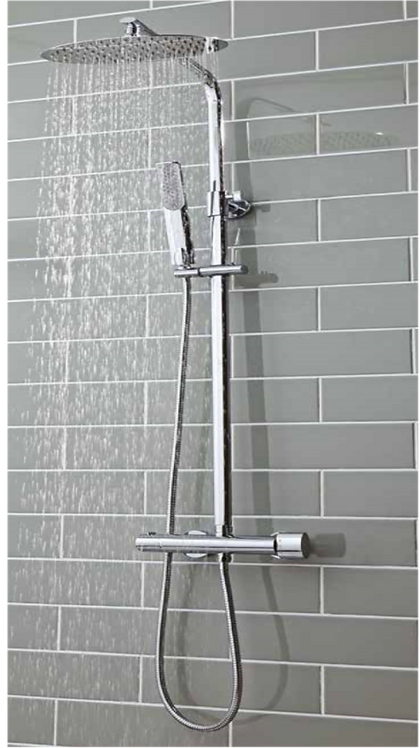 Marco Oval Shower