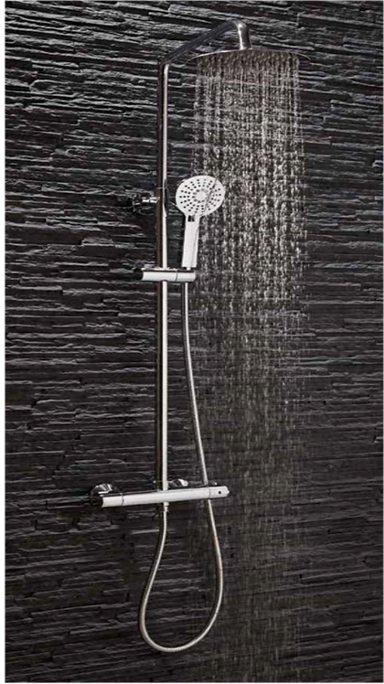 Middleton Round Shower