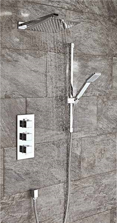 Square Shower Set 4