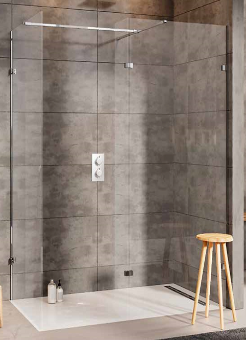 S10 WalkIn Wetroom 1000mm