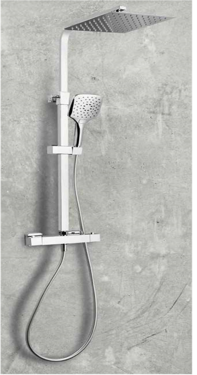 Helier Square Shower