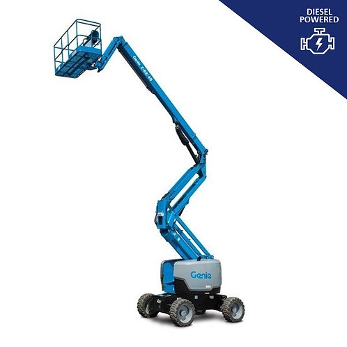 Diesel Powered Articulated Boom Lift Hire (62 ft)